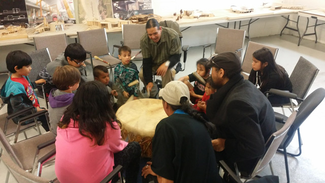 afcc youth family drumming program